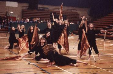 Southern Knights Winter Guard 1991
